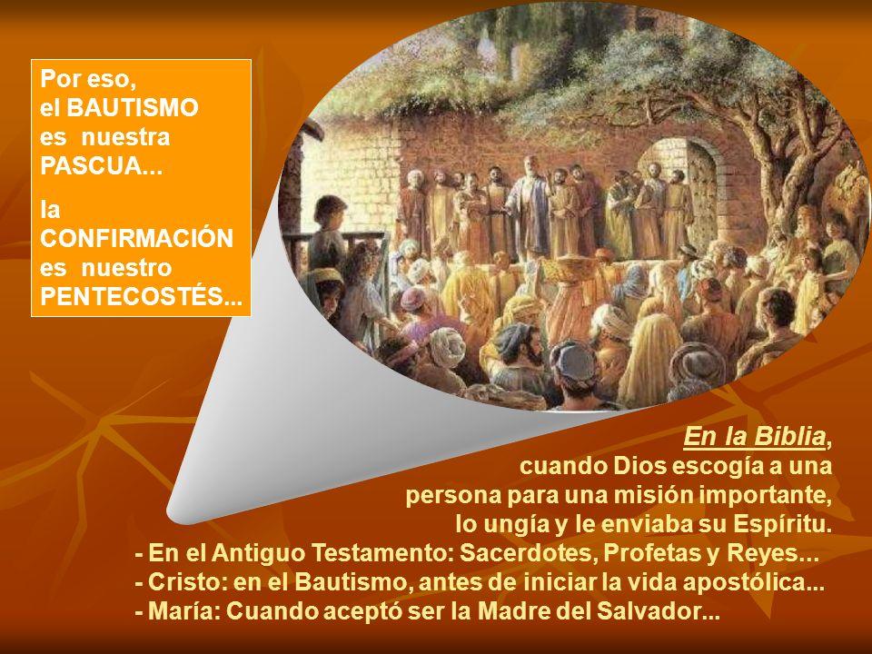 Nuestro Pentecostés... Tal vez envidiemos la suerte de los Apóstoles. Y nos olvidamos de que el Pentecostés continúa aconteciendo. También en nuestra