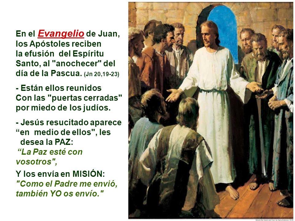 En la 2ª Lectura, Pablo afirma que el Espíritu Santo es la fuente de donde brota la vida de la comunidad cristiana. Es el que concede los DONES, que e