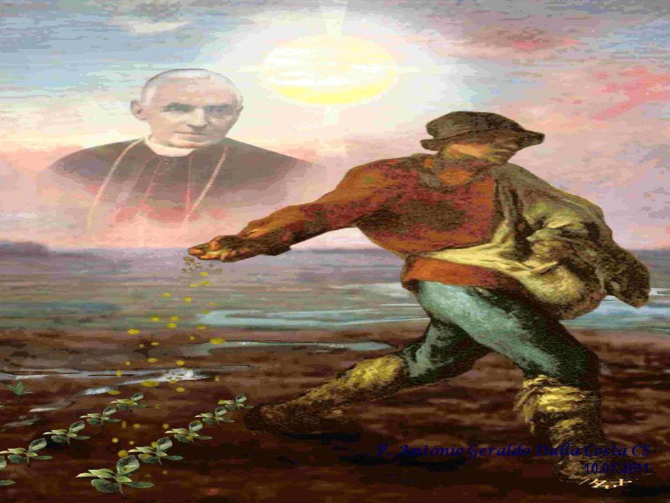 Jesús es el Sembrador, y nosotros también lo somos... Él siembra en todos los terrenos, aun en los infértiles. Lo importante es sembrar el grano de la