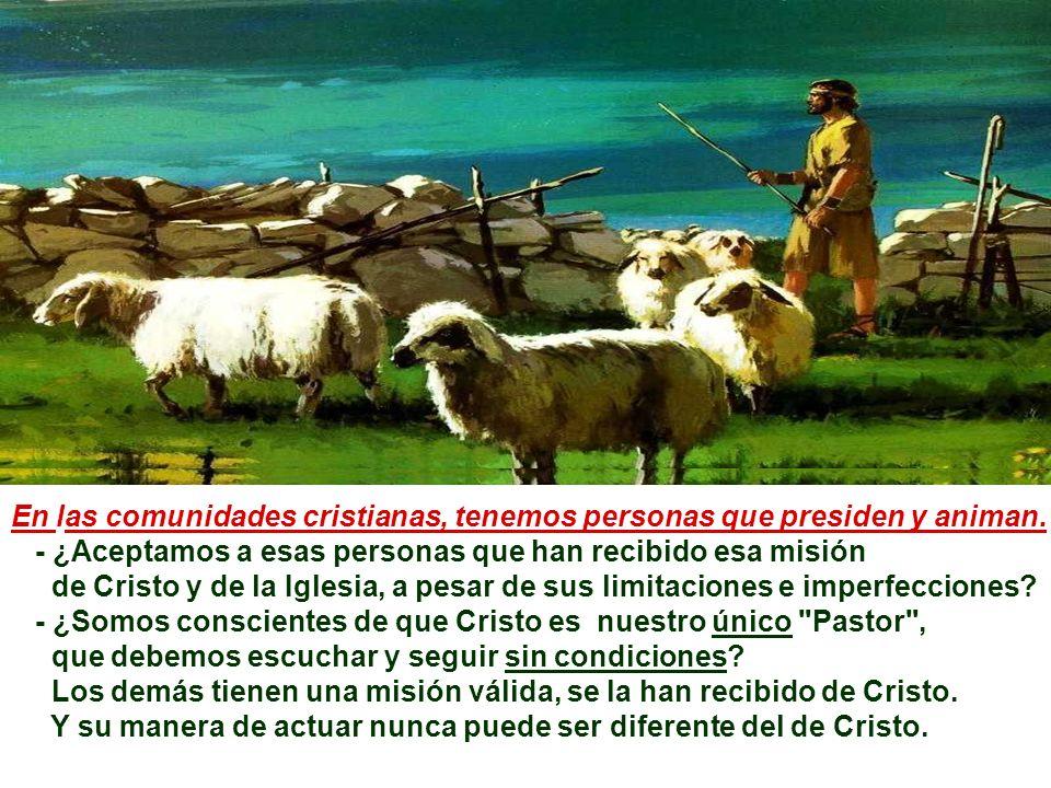 +Las ovejas del rebaño de Jesús deben escuchar la voz del Pastor y seguirlo… Eso significa adherirse a Jesús, recorrer el mismo camino que Él, en la e