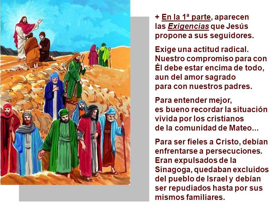 El Evangelio es una catequesis sobre el DISCIPULADO. (Mt 10,37-42) Es el final del Discurso del envío de los discípulos en