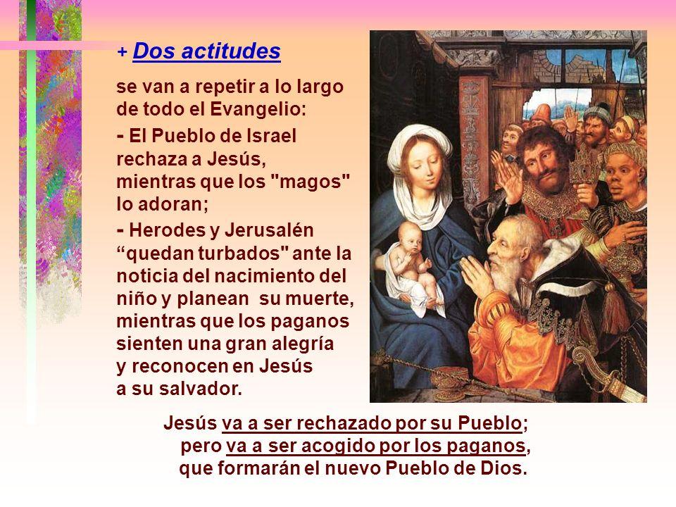 - La Intención de Mateo era presentar a Jesús como el Mesías, el nuevo Moisés... el ungido de Dios, rechazado por los judíos y aceptado por los pagano