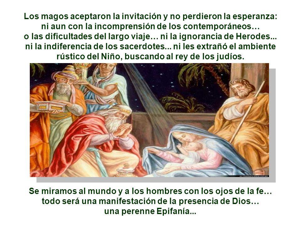 - ¿Con los SACERDOTES, que conocían bien las señales de Dios, y quedan indiferentes ante ellos? - ¿Con HERODES, que aparentemente se muestra interesad