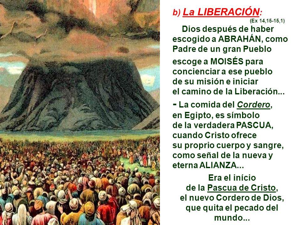 2. LITURGIA DE LA PALABRA: Nos presenta una serie de lecturas bíblicas, que nos narran etapas importantes de la Historia de la Salvación, para después