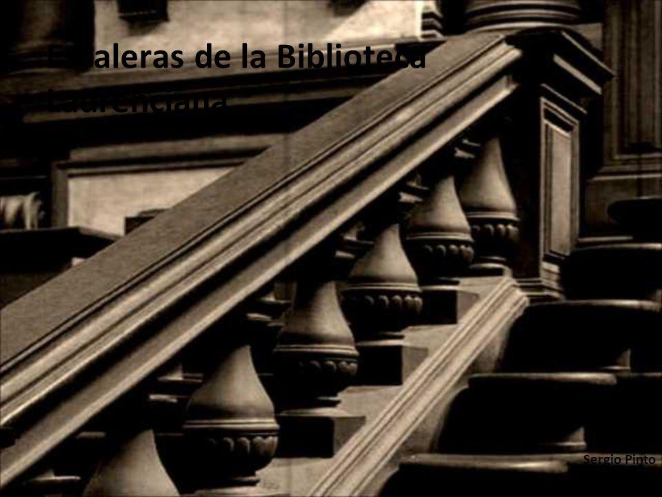 Escaleras de la Biblioteca Laurenciana Sergio Pinto Daniel Sanz