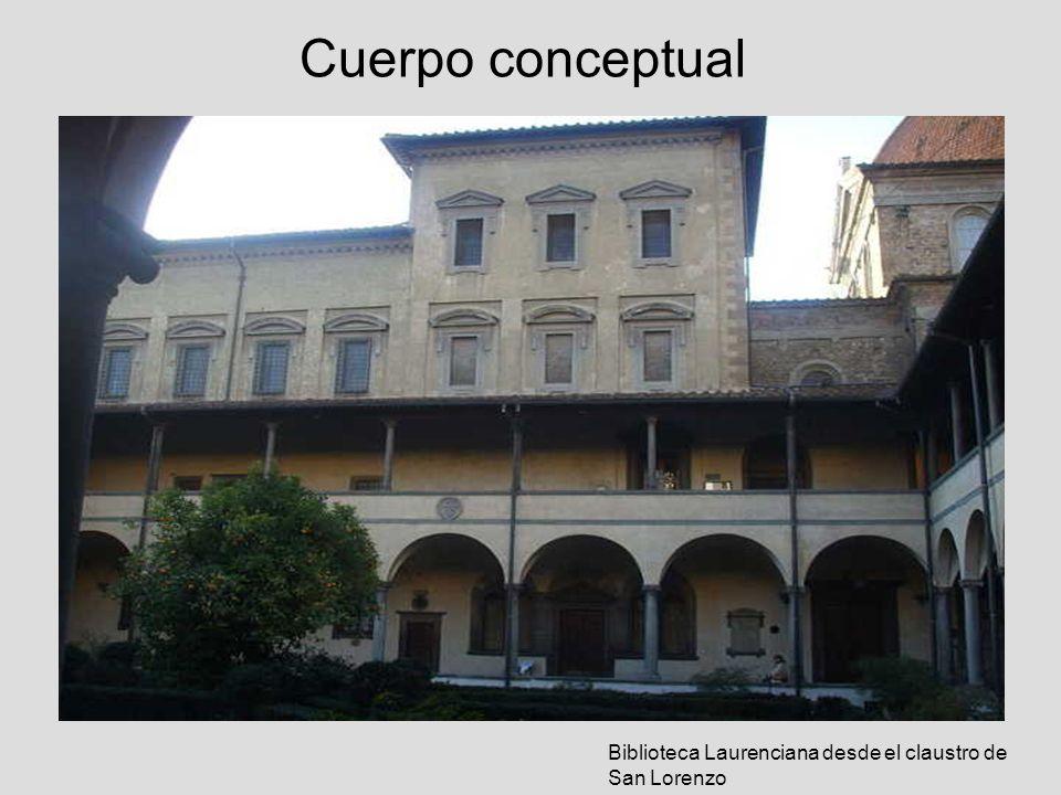 Cuerpo conceptual Sin embargo la diferencia de altura (3 mts) entre cuerpos espaciales (biblioteca - vestíbulo) será un pie forzado para alterar la continuidad del cuerpo existente.