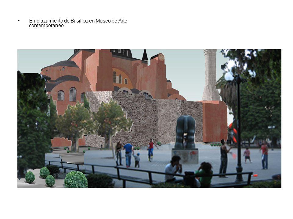 Emplazamiento de Basílica en Museo de Arte contemporáneo