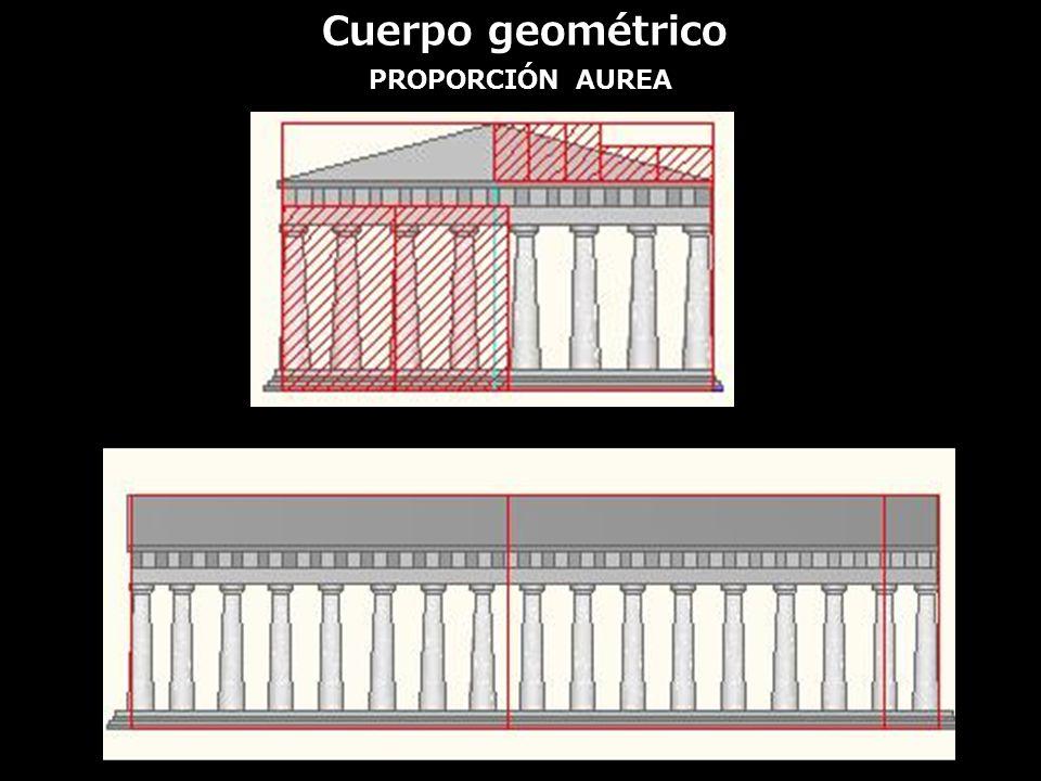 PROPORCIÓN AUREA Cuerpo geométrico