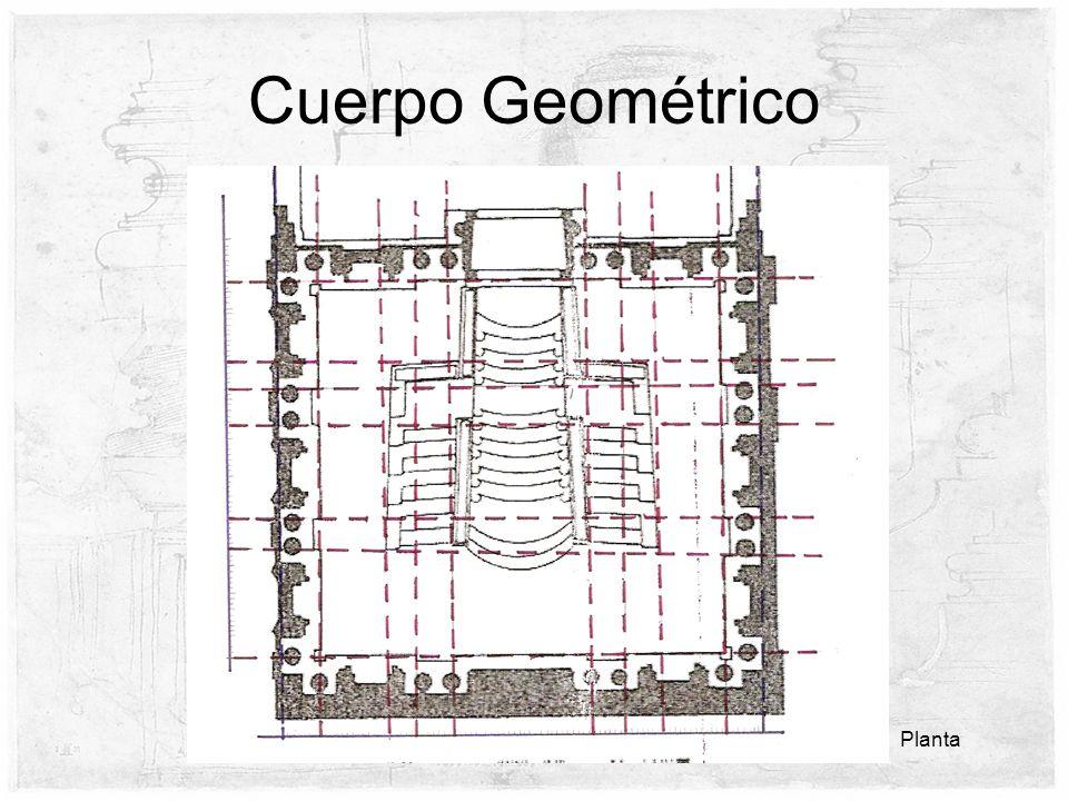 Cuerpo Geométrico Planta