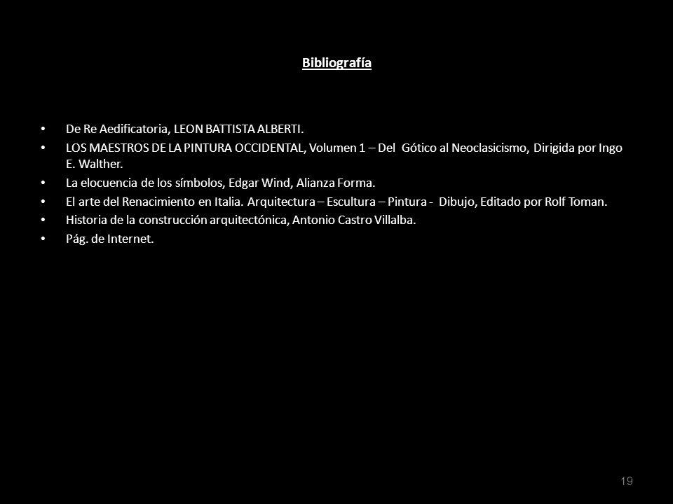 Bibliografía De Re Aedificatoria, LEON BATTISTA ALBERTI. LOS MAESTROS DE LA PINTURA OCCIDENTAL, Volumen 1 – Del Gótico al Neoclasicismo, Dirigida por