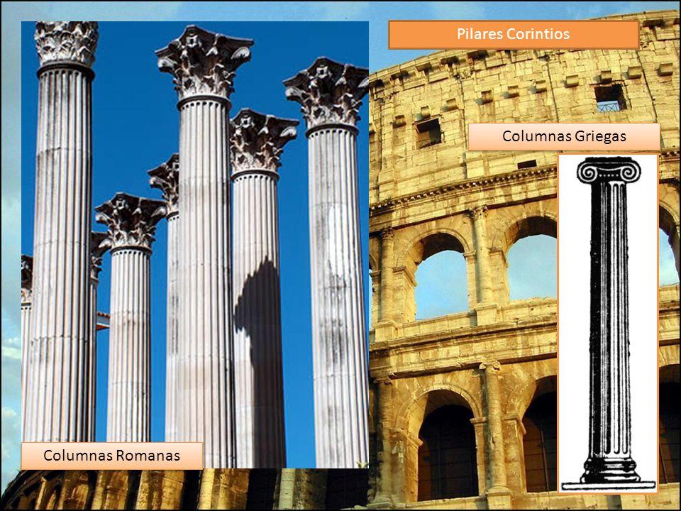 Pilares Corintios Columnas Griegas Columnas Romanas