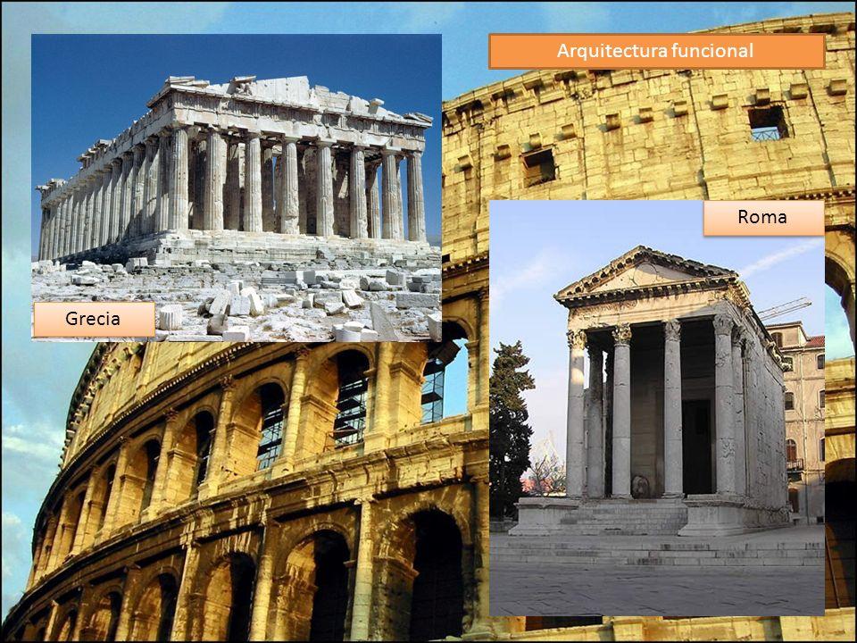 Arquitectura funcional Grecia Roma