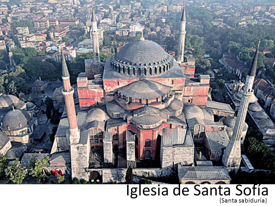 La estructura presenta una sensación de liviandad por la cantidad de delgados pilares que sostienes toda la obra La cúpula contiene en su base, ventanas en todo su diámetro.
