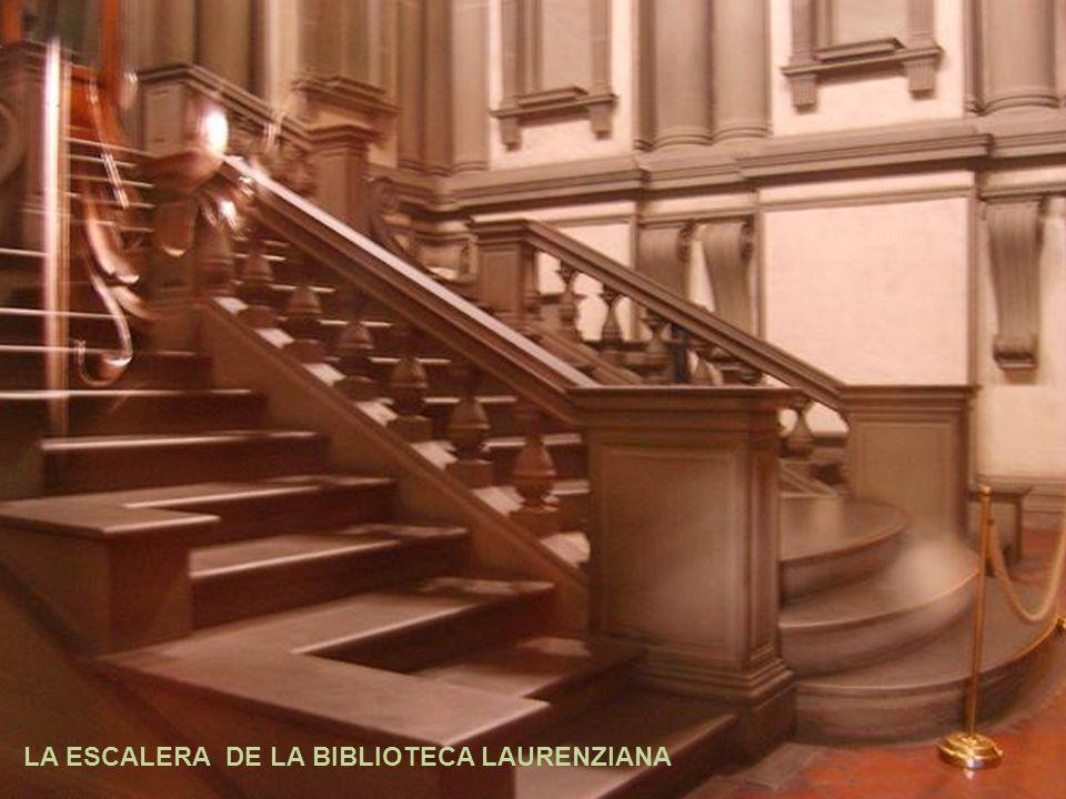 Forma ovalada representada en la escalera con mayor intensidad en su escalera central y en sus primeros 3 escalones