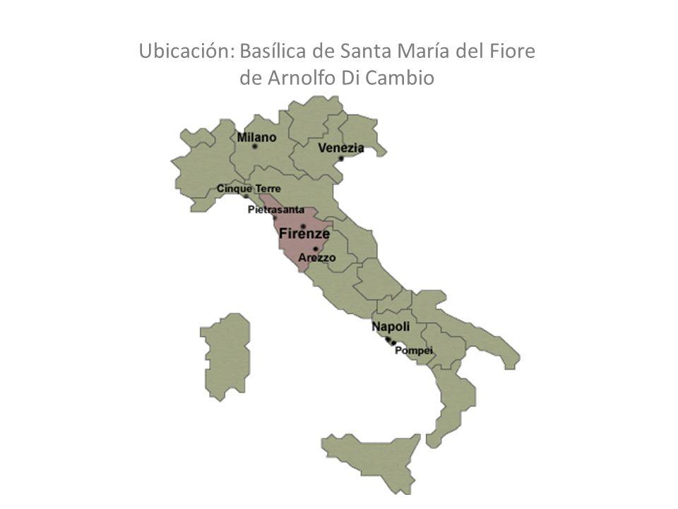 Basílica: 1296-1380Cúpula: 1420-1461 Ha2 Cuerpo Conceptual