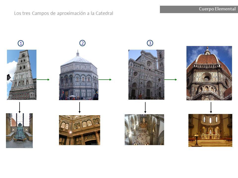 Ha2 Campanario di Giotto Llamada a la monumentalidad de los tres pasos principales Campo de aproximación a la Catedral