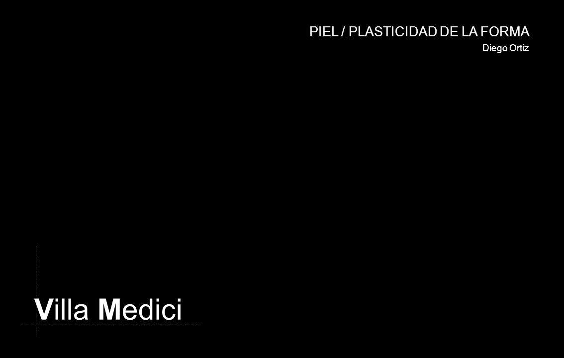 Villa Medici Diego Ortiz PIEL / PLASTICIDAD DE LA FORMA