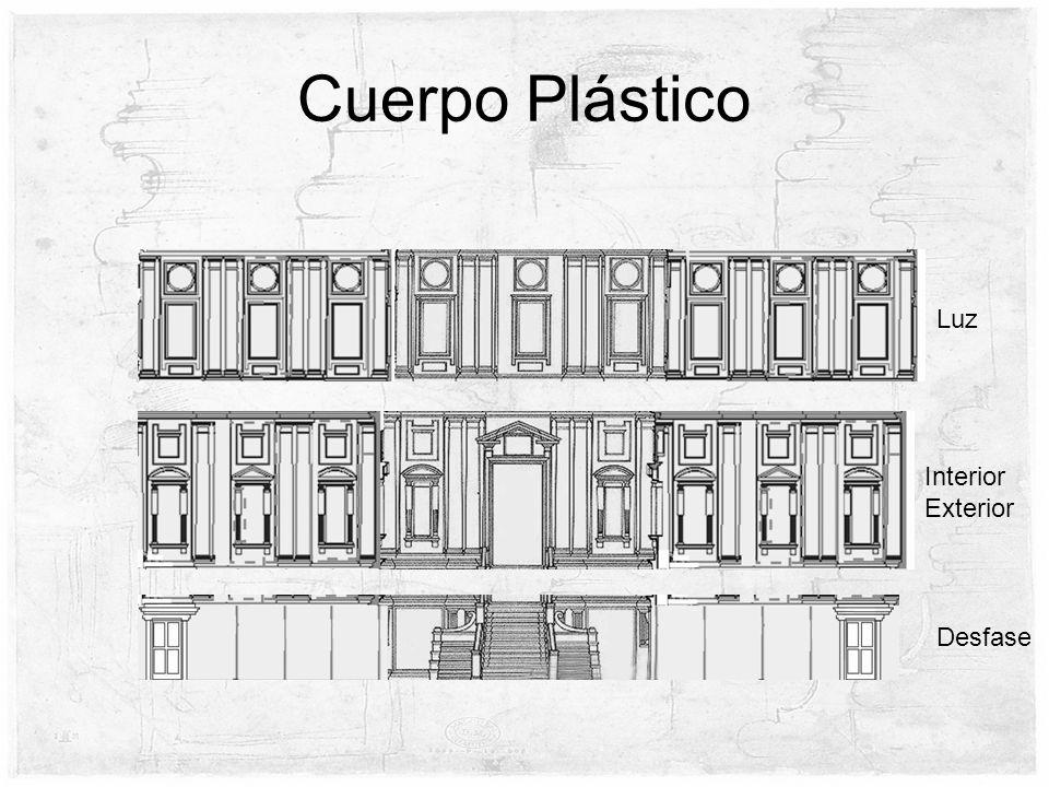 Cuerpo Plástico Luz Desfase Interior Exterior