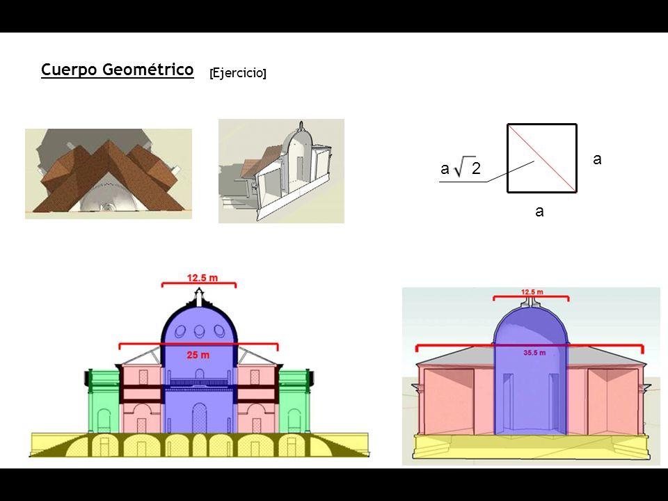 Cuerpo Geométrico [ Ejercicio ] a a a2