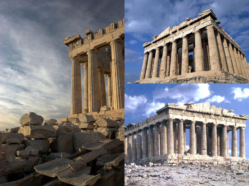 Conceptos: Anfipróstilo: es un término arquitectónico para designar a los templos (particularmente griegos y romano) que poseen un pórtico de columnas en las fachadas, delantera y trasera, pero sin columnas en los lados.
