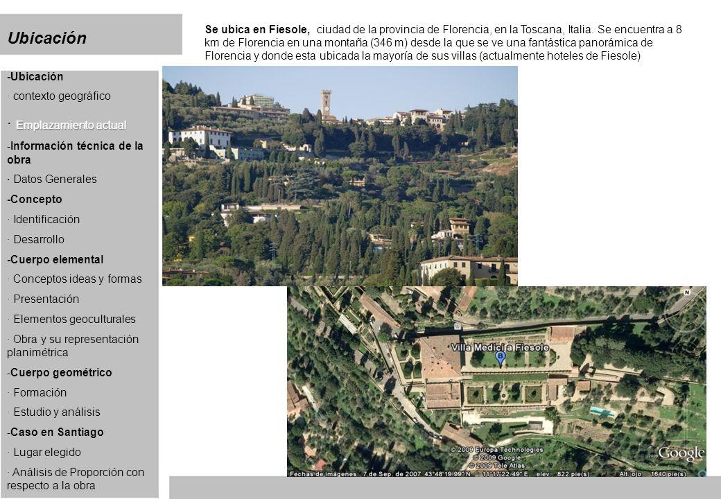 Cuerpo elemental Villa Medici Lugar: Cerro San Cristóbal.