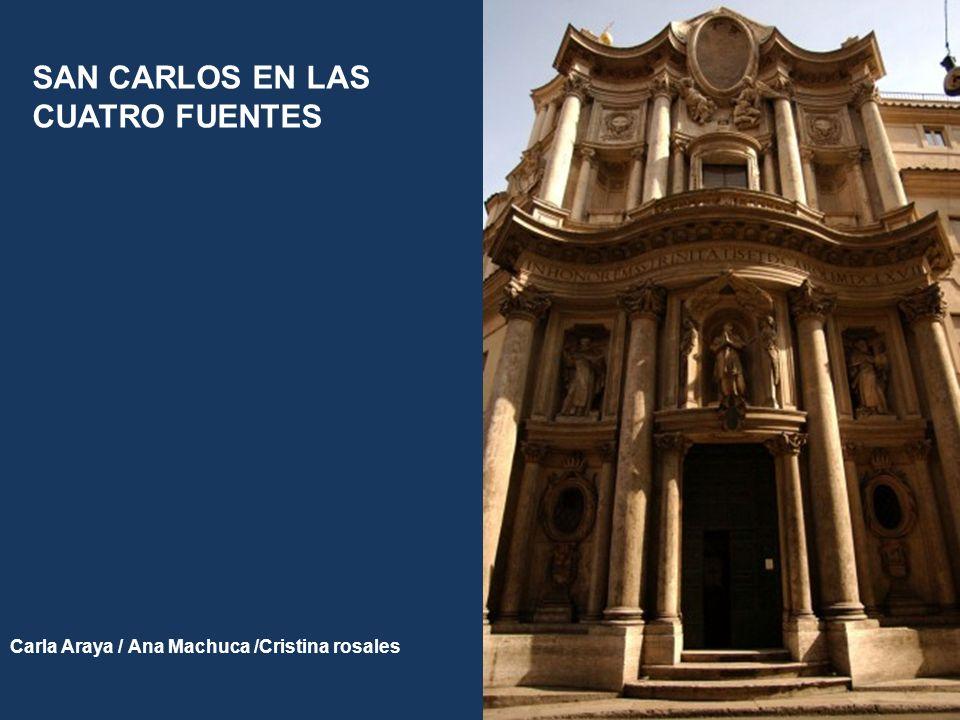 SAN CARLOS EN LAS CUATRO FUENTES Carla Araya / Ana Machuca /Cristina rosales
