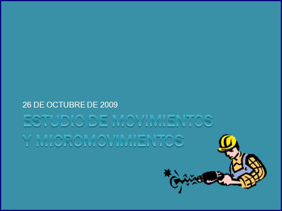 26 DE OCTUBRE DE 2009