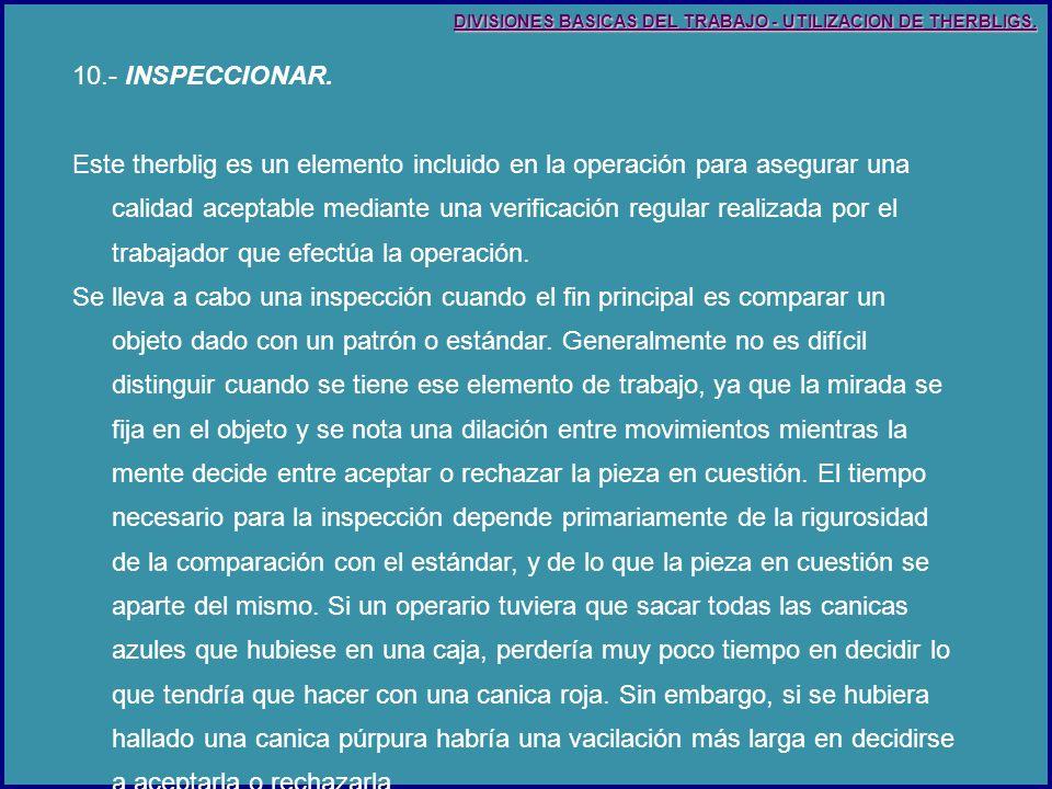 10.- INSPECCIONAR.