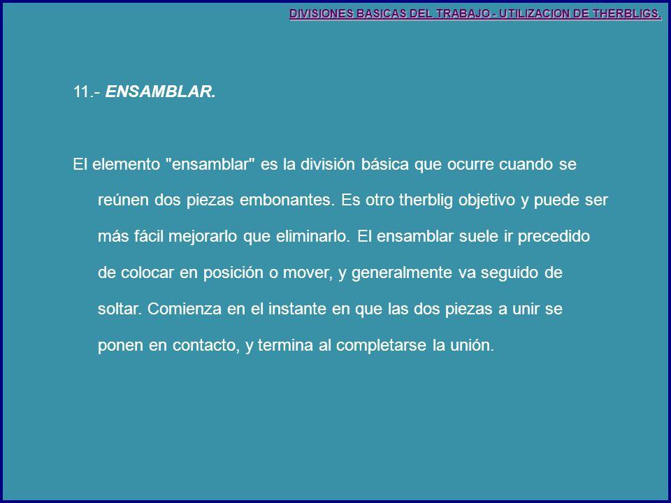 11.- ENSAMBLAR.