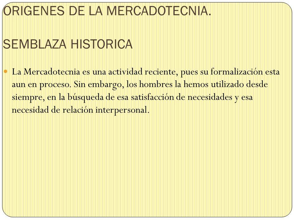PRIMERAS FORMAS DE COMERCIO Desde los comienzos de la civilización las actividades comerciales han formado parte de la evolución de la raza humana, obviamente sin una estructura teórica mercadológica.