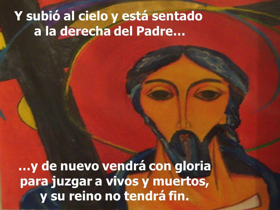 Creo en el Espíritu Santo, Señor y dador de vida, que procede del Padre y del Hijo…