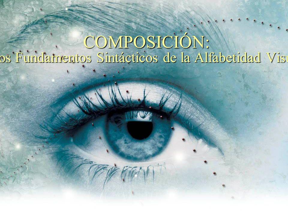 Los dos pasos de la comunicación visual, los cuáles son interdependientes tanto en el significado como en el mensaje son: Proceso de Composición (para la resolución del problema visual) Proceso de ver (sentido de la vista)