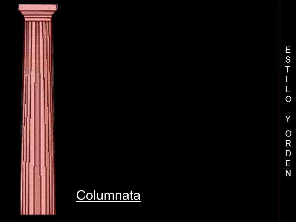 Columnata ESTILO YORDENESTILO YORDEN
