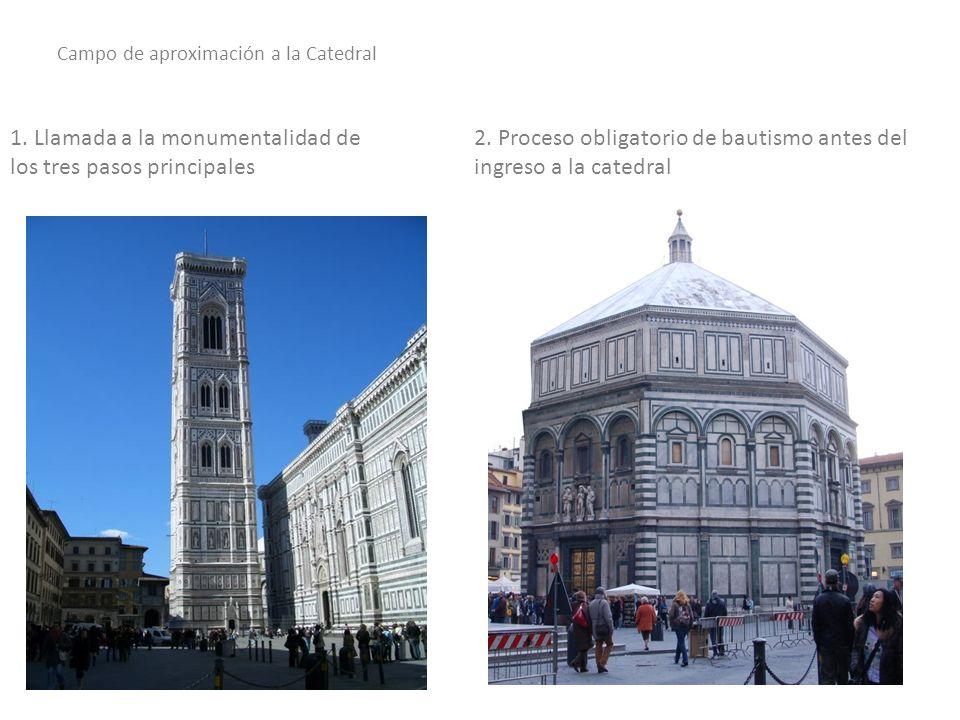 3.Después de los pasos obligatorios de peregrinación se ingresa a la Catedral.