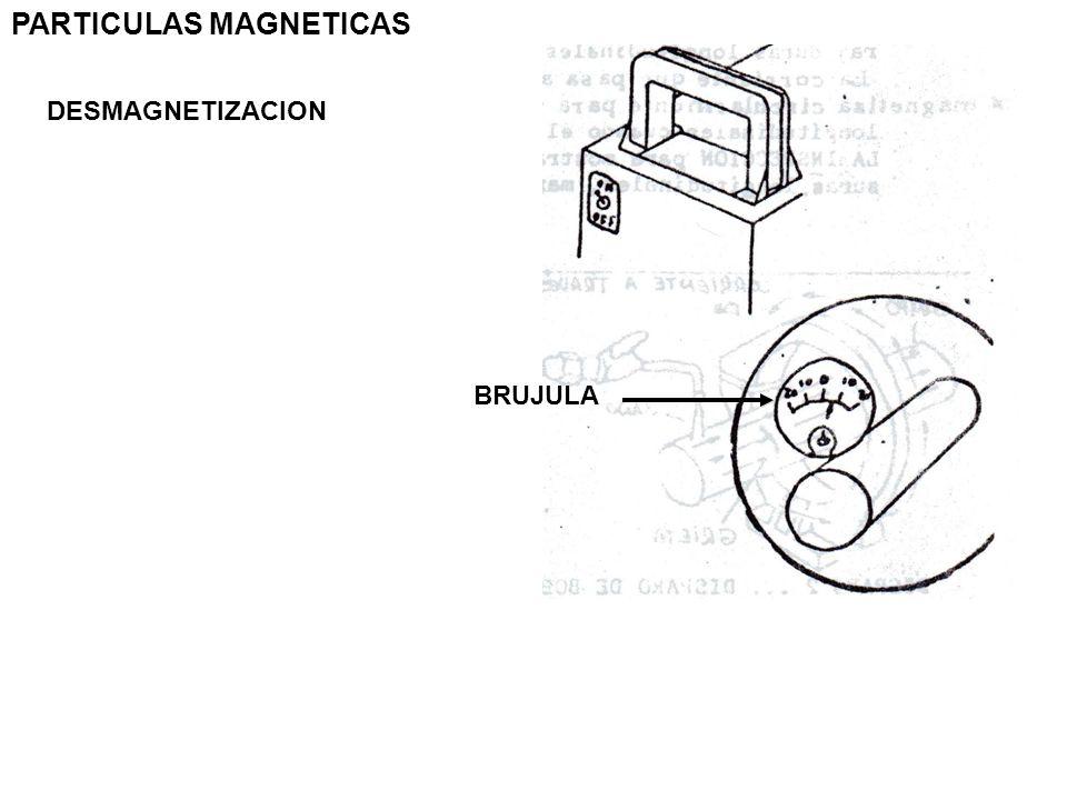 PARTICULAS MAGNETICAS DESMAGNETIZACION BRUJULA