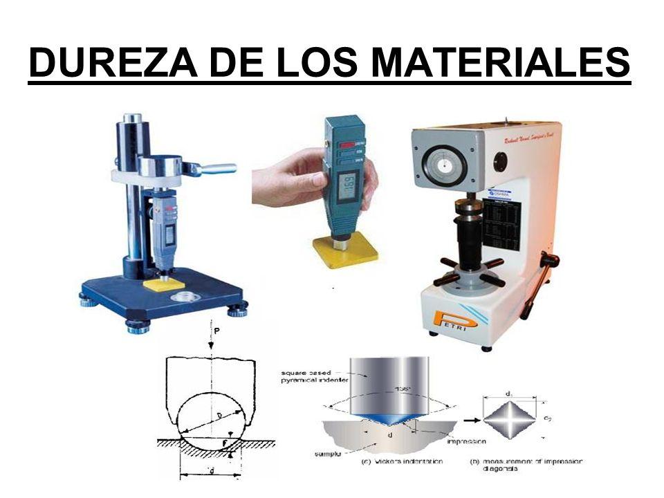 DUREZA ROCKWELL SUPERFICIAL Se utiliza para medir espesores muy pequeños o capas resultantes de tratamientos superficiales por ejemplo, entre otros.