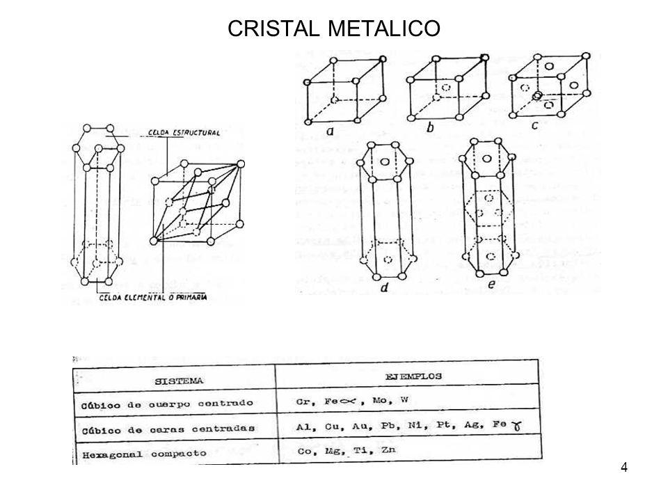 4 CRISTAL METALICO