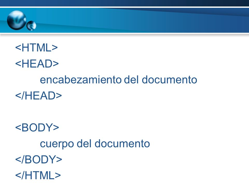 encabezamiento del documento cuerpo del documento