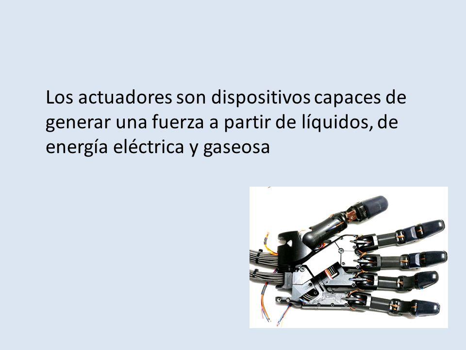 Definición Los actuadores son dispositivos (eléctricos) por medio de los cuales se modifican estados de sistemas como pueden ser: iluminación, climatización, persianas y motores entre otros.