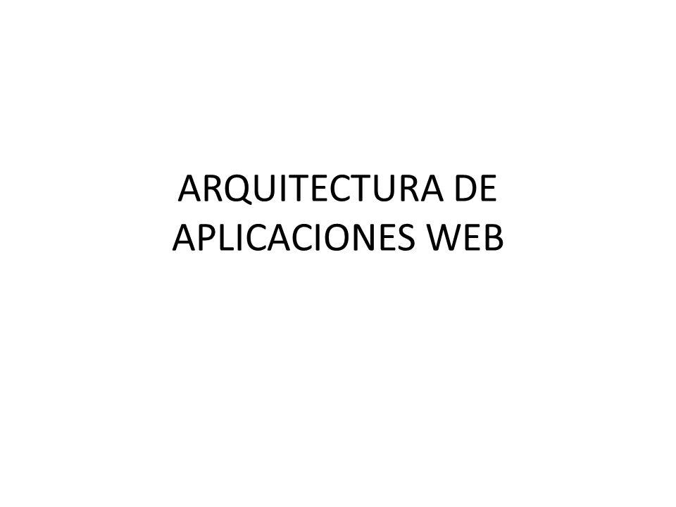 APLICACIONES WEB Aplicaciones que los usuarios pueden utilizar accediendo a un servidor web a través de Internet o de una intranet mediante un navegador.