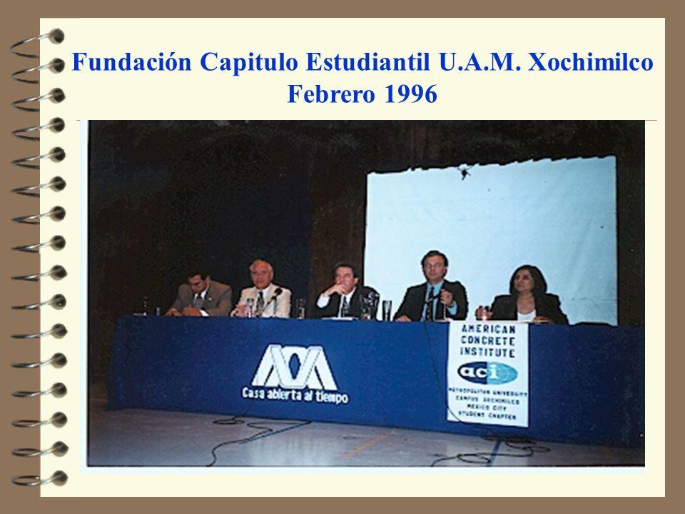 Fundación Capitulo Estudiantil U.A.M. Xochimilco Febrero 1996