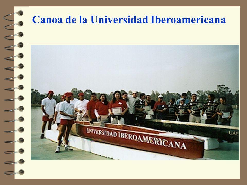 Canoa de la Universidad Iberoamericana