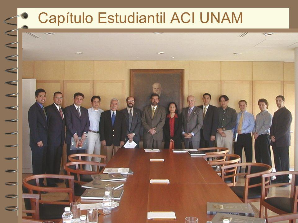 Capítulo Estudiantil ACI UNAM