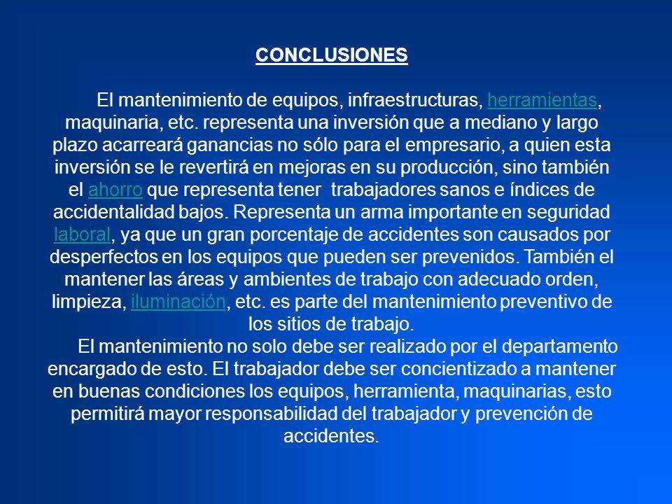 RECOMENDACIONES La empresa Pastas Eduardo C.A.