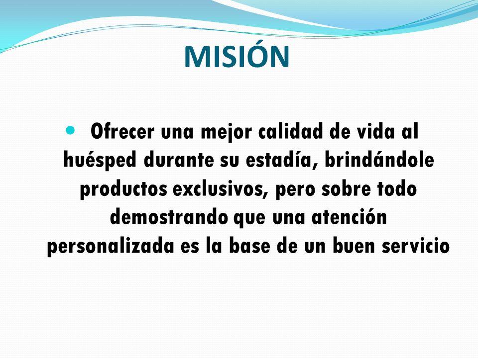 Ser reconocidos como el primer Hotel Vacacional en Venezuela y Europa y contribuir con la preservación ecológica y el deporte.
