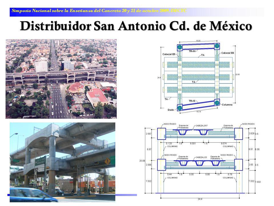 Simposio Nacional sobre la Enseñanza del Concreto 20 y 21 de octubre 2009, IMCYC Distribuidor San Antonio Cd. de México