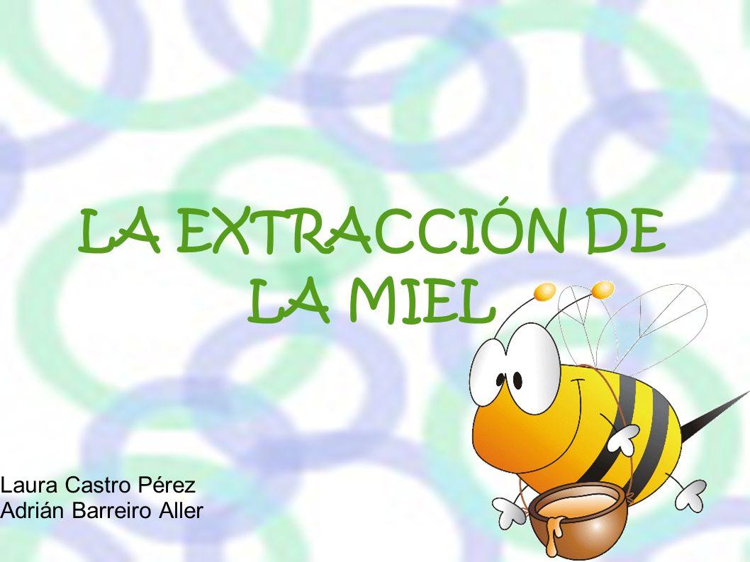 LA EXTRACCIÓN DE LA MIEL Laura Castro Pérez Adrián Barreiro Aller