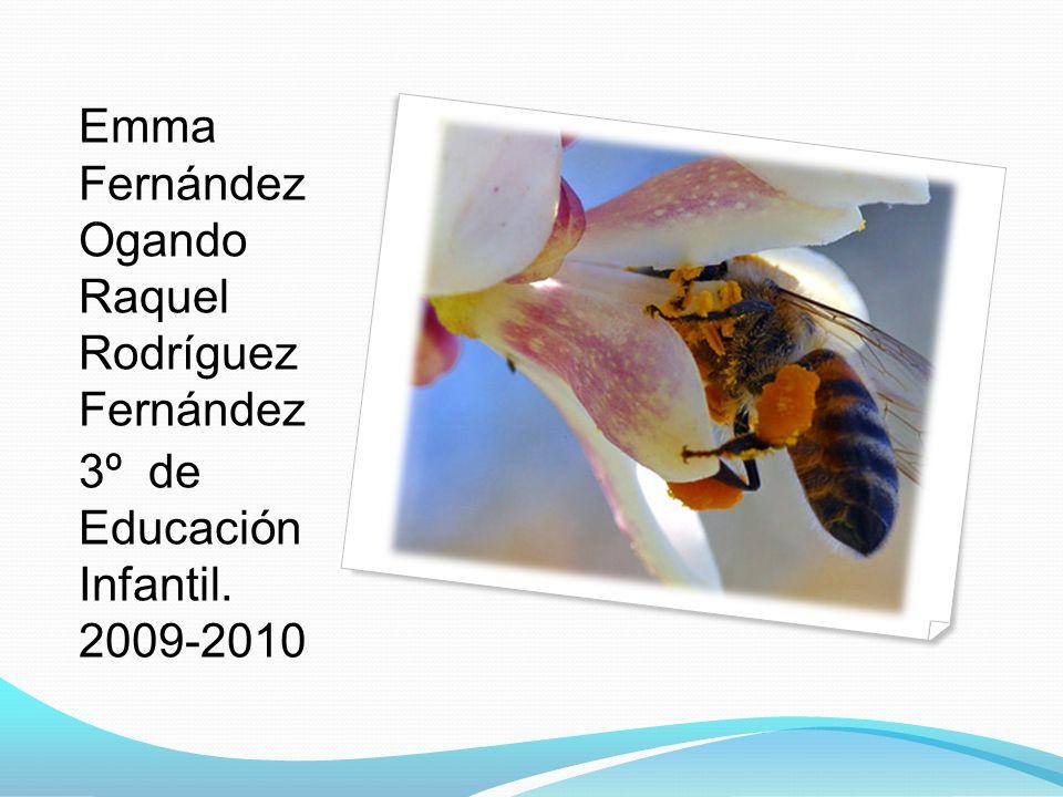 Emma Fernández Ogando Raquel Rodríguez Fernández 3º de Educación Infantil. 2009-2010