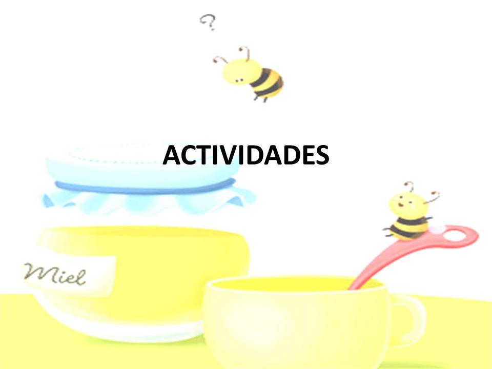 1ª SESIÓN: LA ABEJA Y LA MIEL Para averiguar los conocimientos previos que los alumnos tienen acerca de este tema les realizaremos una serie de preguntas relacionadas con la apicultura como: ¿Sabéis lo que es la miel.