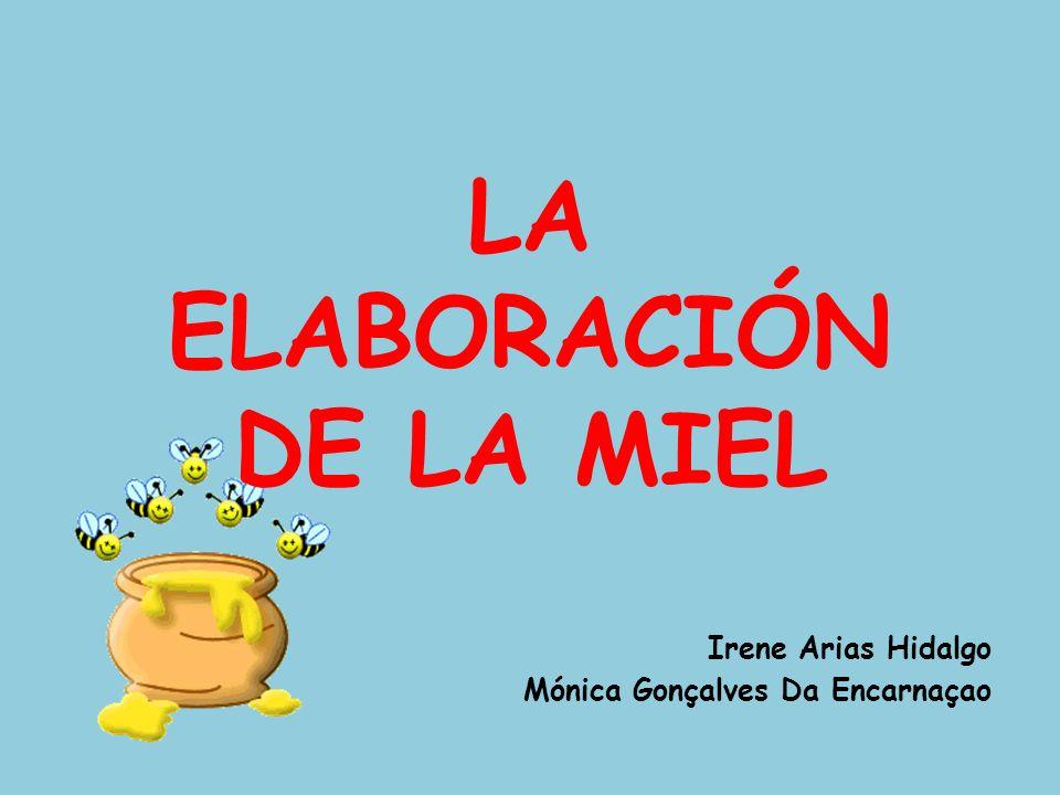 LA ELABORACIÓN DE LA MIEL Irene Arias Hidalgo Mónica Gonçalves Da Encarnaçao